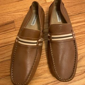 Steve Madden Leather Zepplyn Loafers Size 11